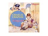 Charlie Chaplin, Dog&#39;s Life Giclee Print