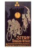 Stern Bicycle Works Ghost Giclee Print