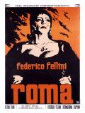 Federico Fellini Roma Giclée-Druck