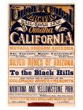 Union Pacific, California Giclee Print