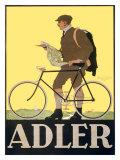Adler Bicycle Lámina giclée