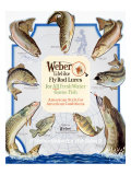 Weber Fly Rod Fishing Lures Giclee Print