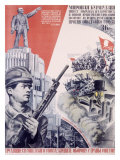 Leninist Communist Party Giclee Print