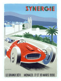 Synergie Monaco Grand Prix, c.1990 Giclee Print