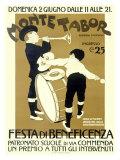 Monte Tabor Bennefit Festa Giclee Print