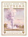 Union Pacific, Yellowstone Giclee Print