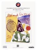 Roland Garro Tennis Championship, c.1992 Giclee Print