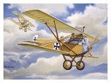WWI, German Albatross Biplane Giclee Print by Robert Mascher