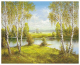 Reflections Of Spring Posters by Helmut Glassl