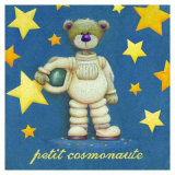 Le Petit Cosmonoute Poster by Raphaele Goisque