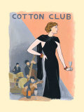 Cotton Club Print by M. Colbert