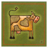 Madame la Vache Print by Raphaele Goisque