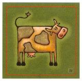 Madame la Vache Print by Raphaele Goisque