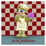Le Petit Patissier Print by Raphaele Goisque