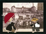 Jeanne a la Plage Prints by Diane Ethier