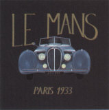 Le Mans Art by J. Clark