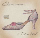 Chaussure I Prints by E. Serine