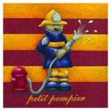 Le Petit Pompier Prints by Raphaele Goisque