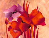 Colourful Flowers II Prints by Gisela Funke