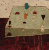 Table with Blue Cup Art par  Oakley