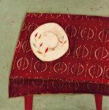 Table rouge Posters par  Oakley