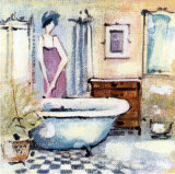 Bath Passion XII Print by M. Ducret