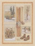 Ski I Poster par Laurence David