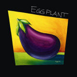 Eggplant Posters by Mary Naylor