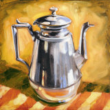 Tea Pot I Print by Sarah Waldron