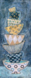 Blue Monday I Print by Carolyn Holman