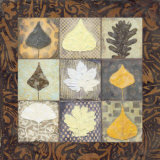 Leaf Mosaic II Prints by Carolyn Holman