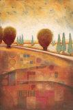 Quilted Landscape II Prints by Susan Osborne