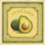 Avocado Prints by Daphne Brissonnet