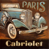 Paris Cabriolet Posters by Gregory Gorham