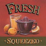 Fresh Squeezed Plakat af Gregory Gorham