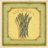 Asparagus Print by Daphne Brissonnet