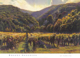 Le Luberon Posters by Brooks Anderson
