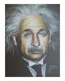Einstein Giclee Print by Roberto Garza