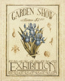 Garden Show I Print by Katherine Jones