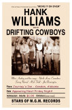 Hank Williams & The Drifters - Journey's End, Camden, AL 1947 Pósters por Dennis Loren