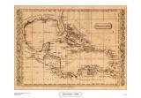 West Indies, 1806 Print