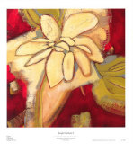 Jungle Gardenia I Prints by Susan Davies