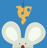 Peek-a-Boo V, Mouse Plakat autor Yuko Lau