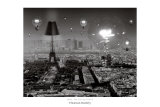 Paris, the City of Lights Poster von Thomas Barbey