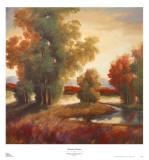 Mountain Shadows Print by Adam Rogers