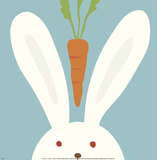 Peek-a-Boo I, Rabbit Prints by Yuko Lau