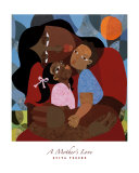 Mother's Love Print by Evita Tezeno