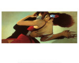 Tango Dancers Posters by Bill Brauer