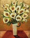 Calla Lily Bouquet Prints by Shelly Bartek