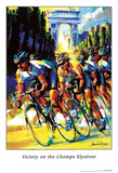 Victory on the Champs Élysées Prints by Malcolm Farley